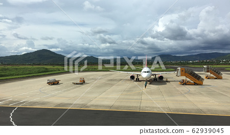 Airbus A320 airplane of Vietjet Air 62939045