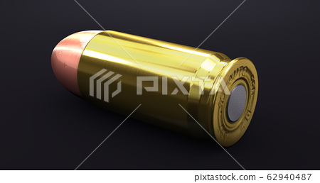 Single cartridge of a handgun  62940487
