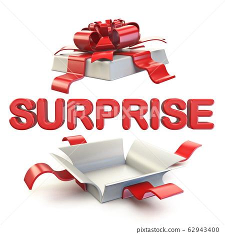 Surprise gift box 3D 62943400