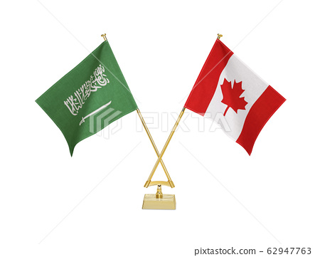 Table flags of two countries 62947763