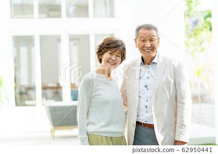 Senior couple portrait couple family image 62950441