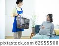 孕婦和家庭傭工 62955508