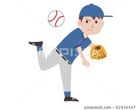 棒球投手人 62956347