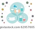 Prevention virus cold hay fever illustration 62957605