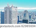[Tokyo] City landscape 62965694