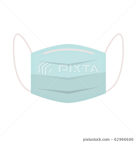 Medical mask to protect vector 62966686