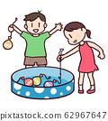 Summer festival! Yo-yo play! 62967647