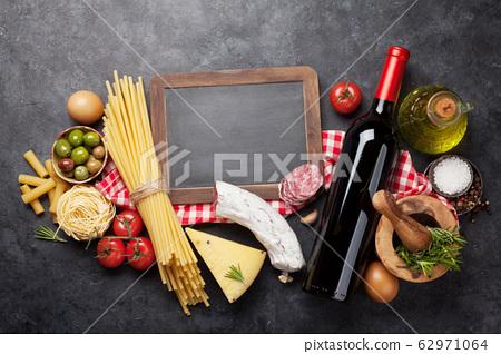 Italian cuisine food ingredients 62971064