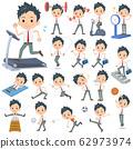 school boy White shirt necktie summer_exercise 62973974