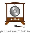 Musical instrument gong 62982219