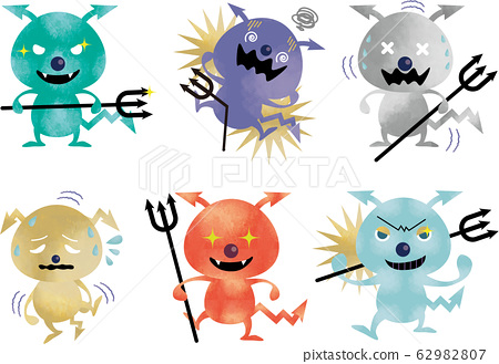 病毒:细菌,细菌,细菌,感染,感染,设置,水彩,感冒,疾病,分离,细菌,根除,病毒感染 62982807