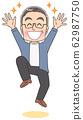 祖父高级祖父爷爷男子叔叔插图漫画 62987750