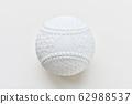 주의) 배경 흰색으로 구체화 의한 센서 표면 쓰레기가 남아 있습니다. 연식 야구 공. 62988537