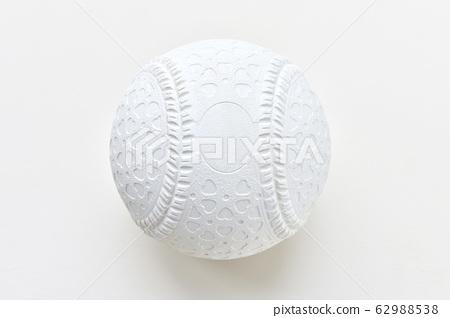 注意)傳感器表面的污垢將留在白色背景上。棒球用橡膠球。 62988538