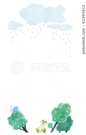 青蛙在雨中唱歌 62994612