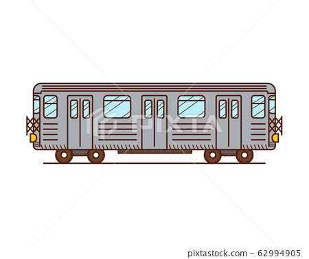 Subway train 62994905