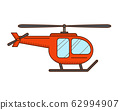 Red helicopter 62994907