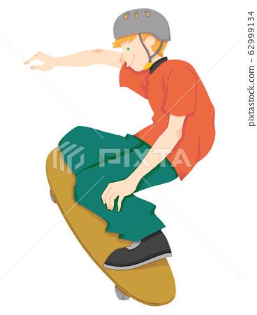 滑板手(無縫) 62999134