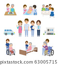 Care Group home Illustration Set 63005715