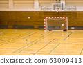 2月,吉川市体育馆小学手球比赛场地 63009413