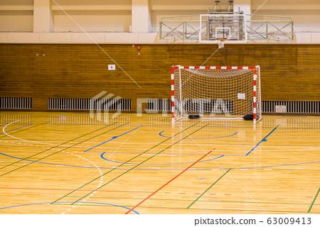 2月,吉川市體育館小學手球比賽場地 63009413