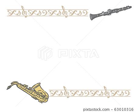 裝飾邊框和木管框架材料 63010316