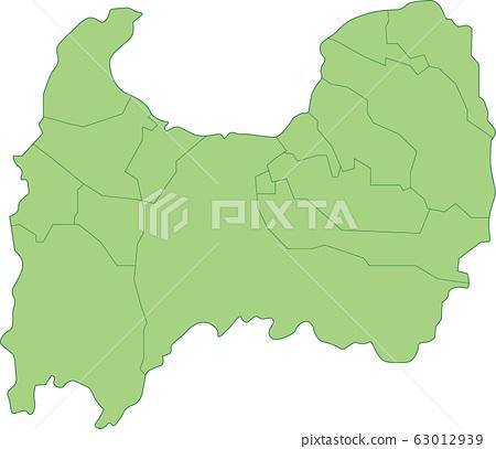 富山縣地圖 63012939