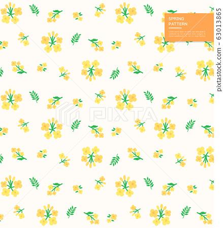 清新春季植物設計模式7 63013865