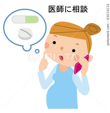 為孕婦服用藥物時請諮詢醫生 63014218