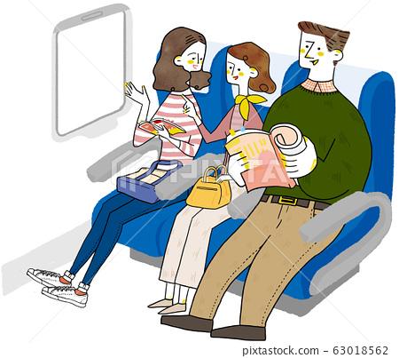 Vehicle travel family 63018562