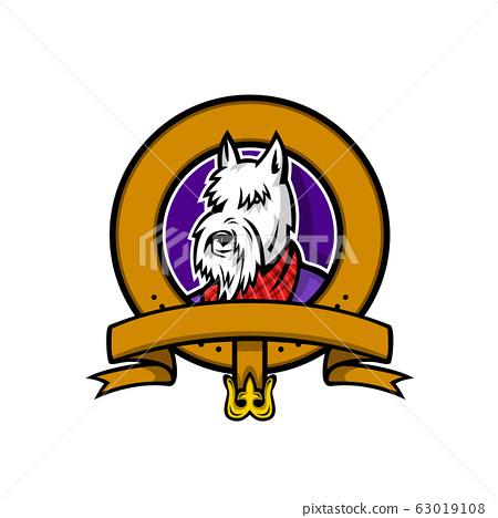 Scottish Terrier Belt Loop Mascot 63019108