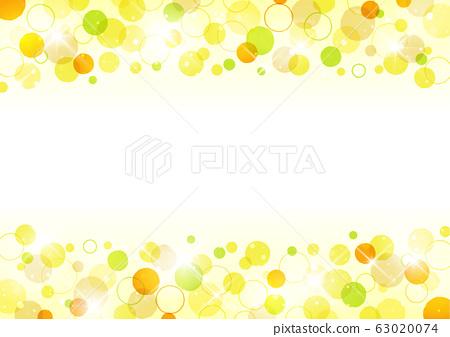 도트 무늬 배경 소재 옐로우 계열 63020074