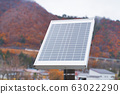 Small solar cells for converting solar energy into electrical energy. 63022290