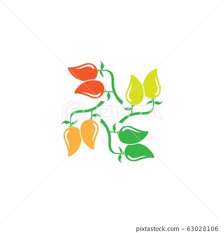 mango logo template vector illustration design 63028106