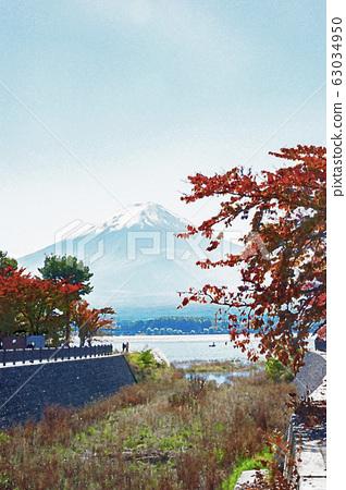 Mt. Fuji in autumn 63034950