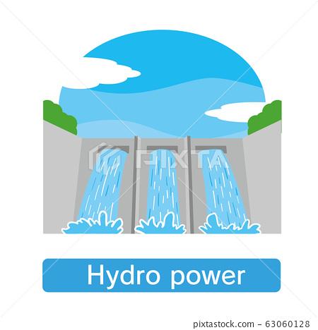 水電,水電,水壩,電力,電力公司 63060128