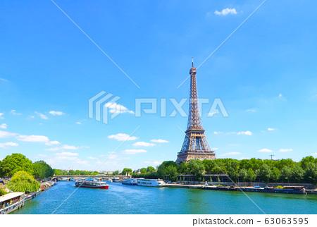 艾菲爾鐵塔巴黎法國 63063595