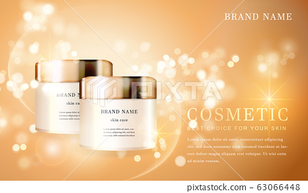 Cosmetic bottles_golden 19 63066448