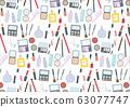 化妆工具时尚设置色板模式模式图 63077747