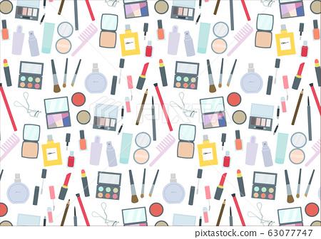 化妝工具時尚設置色板模式模式圖 63077747