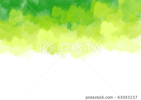 Abstract image of Green watercolor splash texture background. 63083237