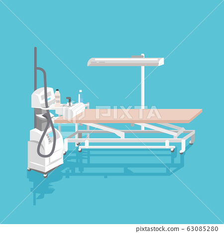 medical hair removal equipment instruments for cosmetology beautician cabinet with laser epilation machine and couch 63085280