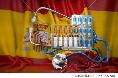 Healthcare, insurance and pharmacy in Spaim 63088908