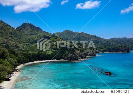 Sakaiura Coast of Ogasawara (Chichijima) 63099425