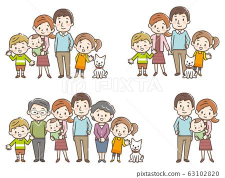 家庭3代套裝 63102820