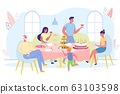 Celebrating at Home with Closest People, Banner. 63103598