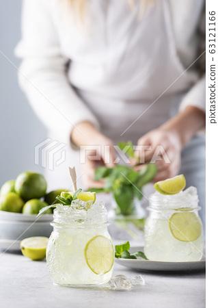 Mojito cocktail 63121166