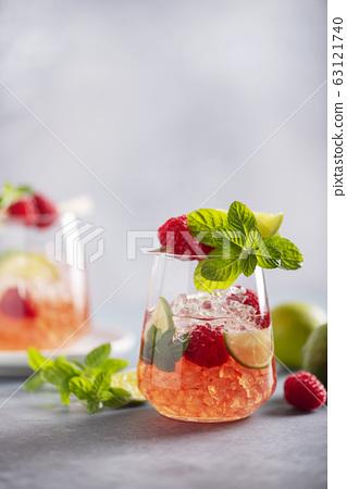 Raspberry mojito 63121740