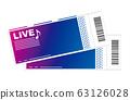 Ticket illustration 63126028