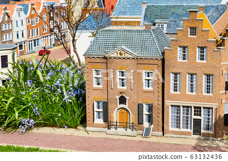 Madurodam, miniature park in Hague, Netherlands 63132436